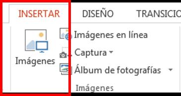 Botón insertar imagen