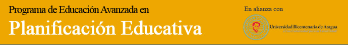 Maestría en Planificación Educativa