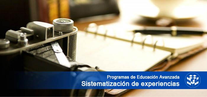 Programas de Educación Avanzada en Sistematización de Experiencias