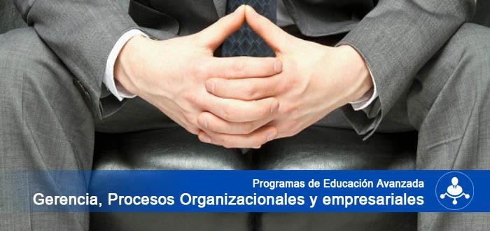 Programas de Educación Avanzada en Procesos Organizacionales